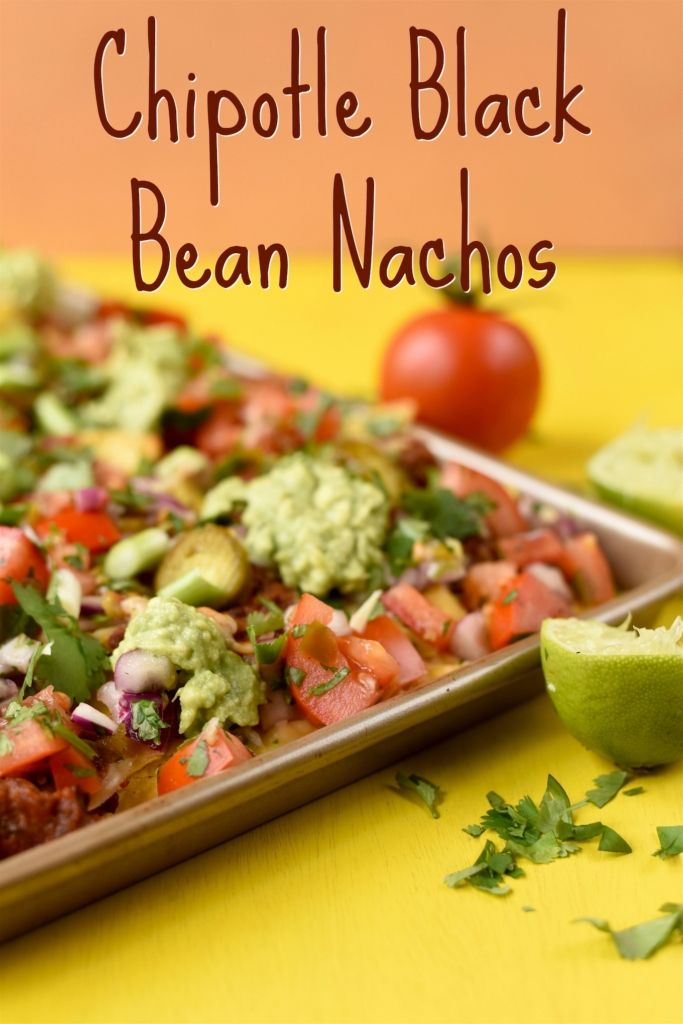 Chipotle Black Bean Nachos