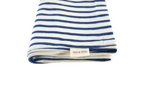 Baby Carrier in French Stripe | Yoli and Otis – Salt Living or online at www.saltliving.com.au #saltliving #yoliandotis #organic #baby