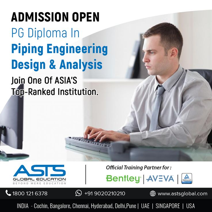 Explore career options in Piping Engineering Design And