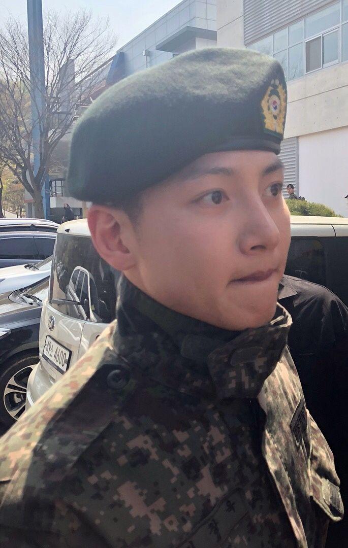 Ji Chang Wook During His Military Enlistment Ji Chang Wook Jang Geun Suk Kdrama Actors