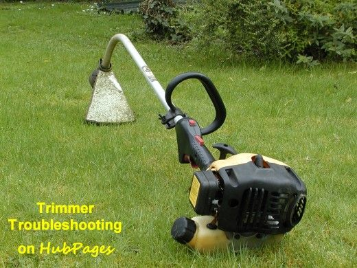 How to get your stubborn trimmer to start! Sorting issues with the carburetor and ignition system. Hub of the Day and Editor's Choice on HubPages. #gardening #gardentools