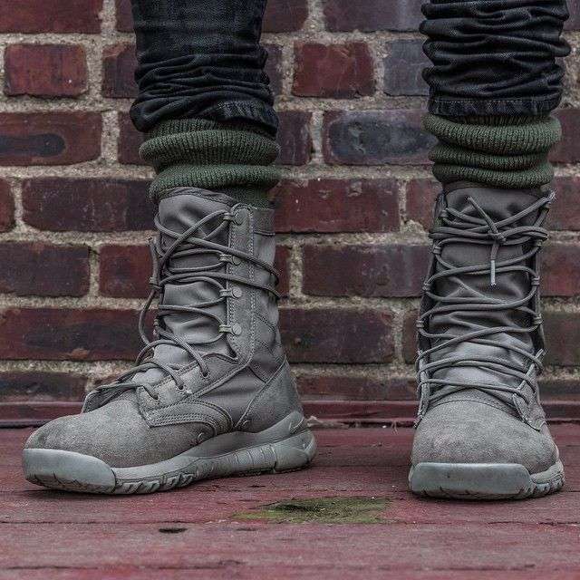 Untitled Stacks At Landofluxe Com Boots Outfit Men Nike Sfb Boots Military Boots Outfit