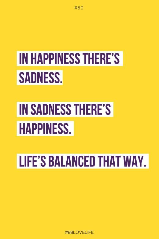 Life's balance that way - #88lovelife book