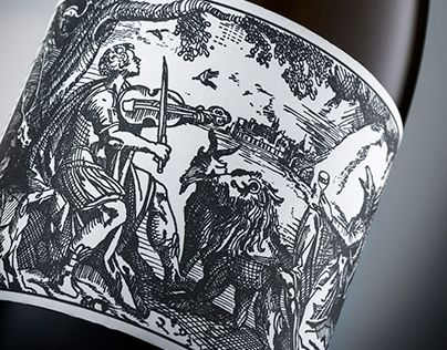 Orpheus and The Raven Wine Packaging | Bravo Design