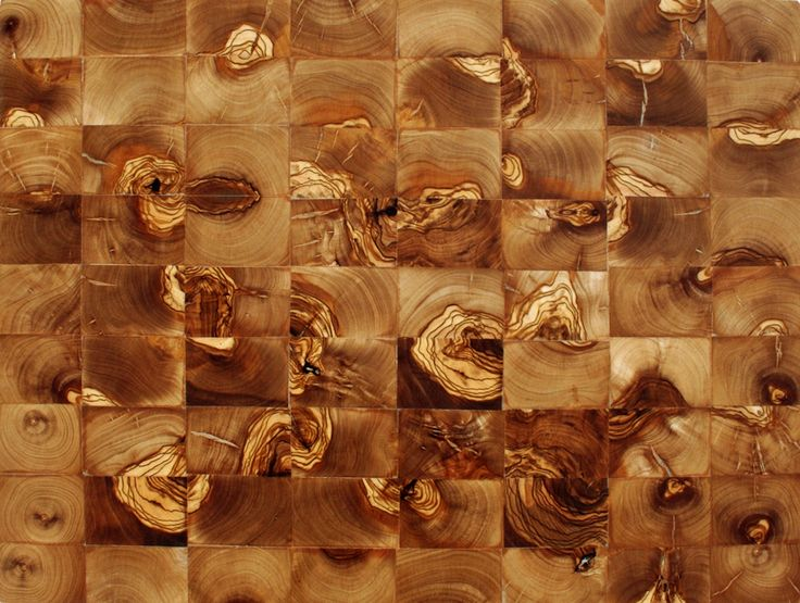 Parquet de madera de olivo