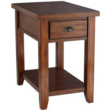 Mission style end table kitchen dining living room for Mission style kitchen table