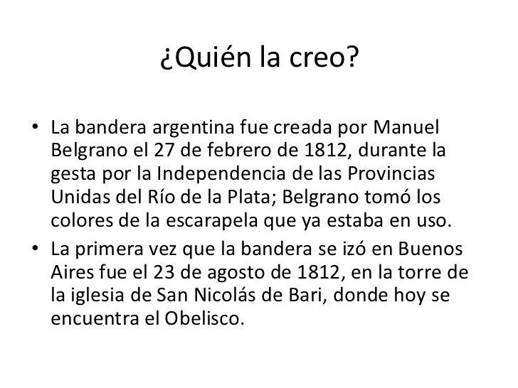 Quien Creo La Bandera Argentina Buscar Con Google Bandera Argentina Manuel Belgrano Bandera