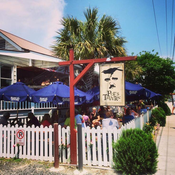 Poe's Tavern on Sullivan's Island. 72 Hours in Charleston, South Carolina -This Beautiful Day