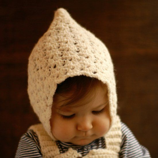 Elegant and playful is a style that will never fade. It really doesn't get much cuter than this vintage pixie hat!
