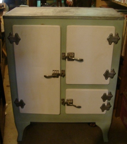 87 Best Antique Ice Boxes Images On Pinterest