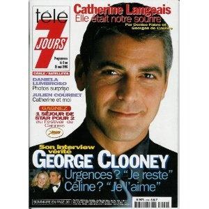 Télé 7 jours (n°1980) du 09/05/1998 - George Clooney - ... [Magazine mis en vente par Presse-Mémoire]