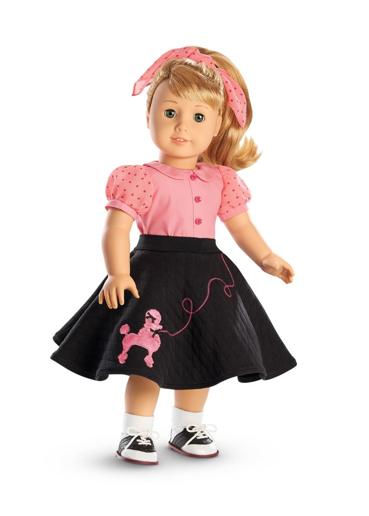 American Girl Maryellen's Poodle Skirt Outfit