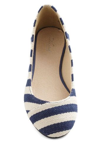 mod cloth nautical flat