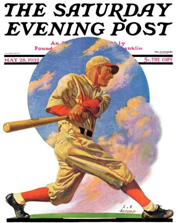 Baseball Batter (J.F. Kernan, May 28, 1932)