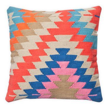 Check out this item at One Kings Lane! Navajo 20x20 Cotton Pillow, Multi