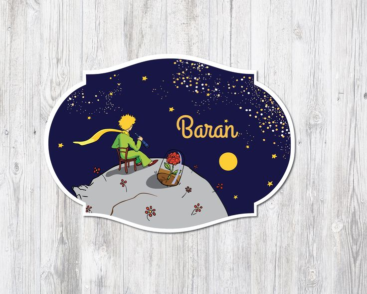 the little prince nursery door hanger,le petit prince, for more info contact bedikyan@gmail.com