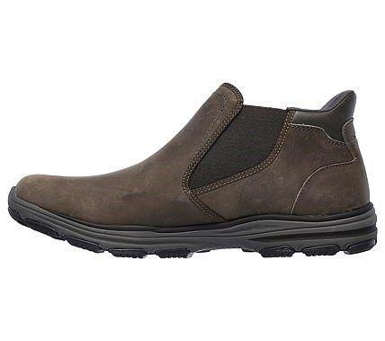 Skechers Men's Garton Keven Chelsea Boots (Charcoal)
