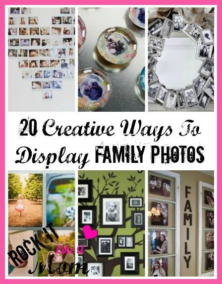 Some Of These Creative Ways To Display Family Photos Can Offer The Do It  Part 86