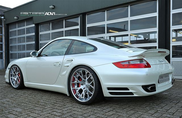 Porsche 997 Turbo ADV7 Deep Concave by ADV1WHEELS