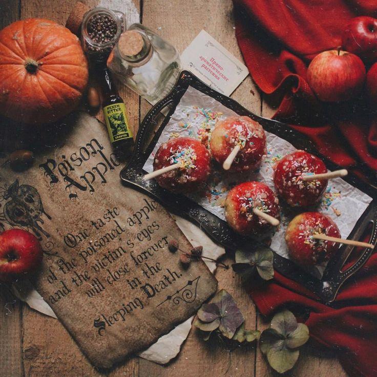 dark times snow white in autumn