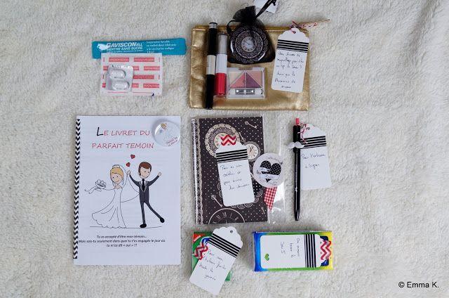 Le Kit du témoin Parfait organisation mariage wedding