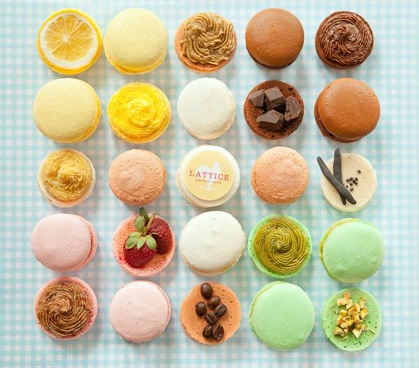 jakarta food, macarons