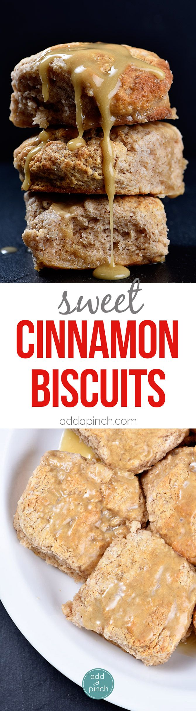These Sweet Cinnamon Biscuits practically scream fall! But then, when you…