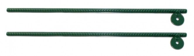 Pair of Green Steel Swing Set Achors