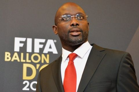BREAKING NEWS: Former Chelsea star George Weah is new President of Liberia