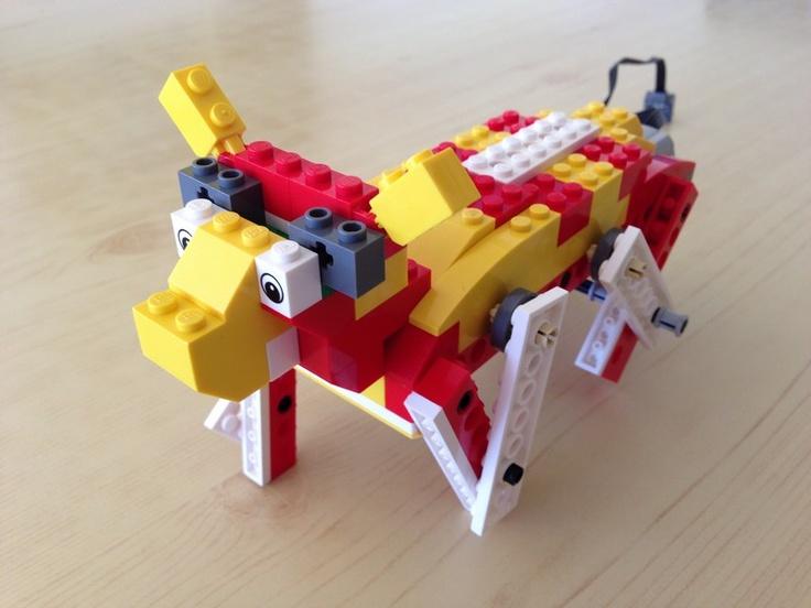 WeDoBots:Lego wedo creatures ..Lego WeDo introduces robotics- We offer this class at our program :)
