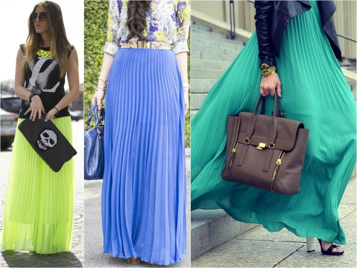 Trend - Pleated Maxi Skirts // Pilili Uzun Etekler