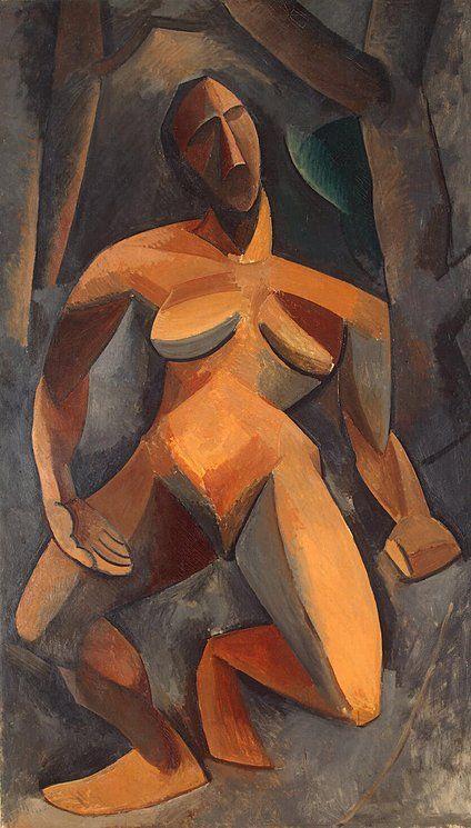 Pablo Picasso, Dryade (Dryad) 1908