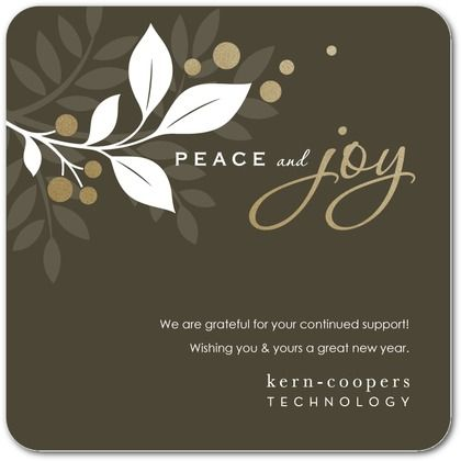 21 best cards images on pinterest image christmas greetings and peaceful garden business holiday cards nancy kubo dark gray gray front reheart Gallery