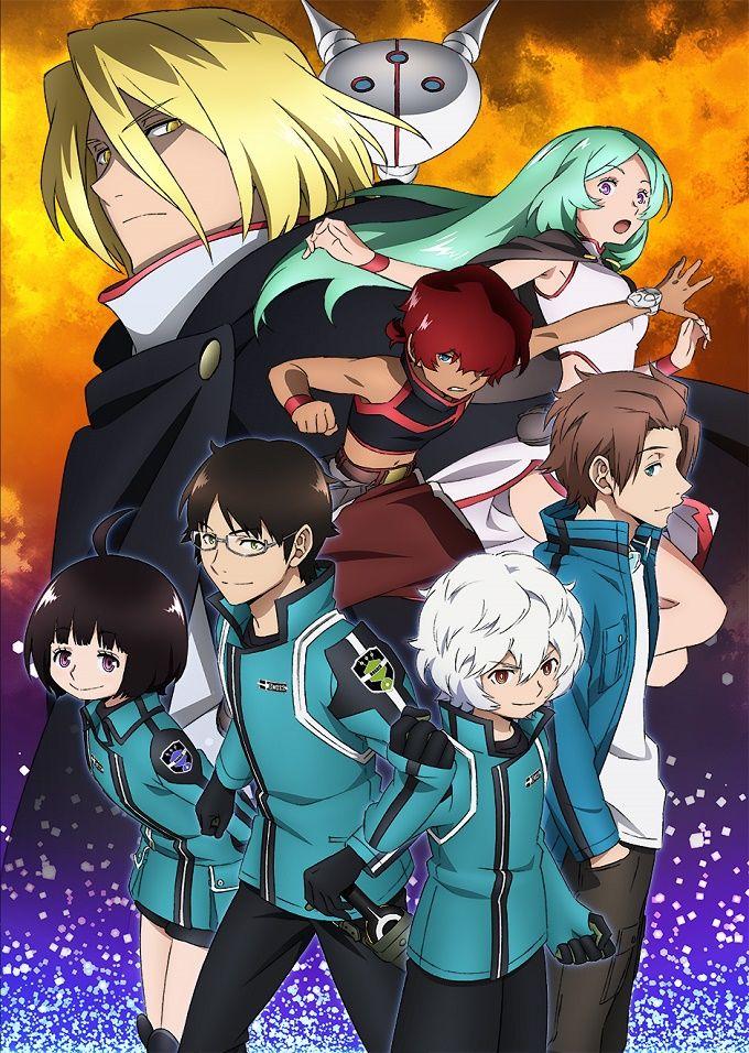 Primera imagen promocional del Anime World Trigger Isekai