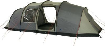 10T Camping-Zelt Mento 8 Vis-A-Vis Tunnelzelt mit Schlafkabine für 8 Personen Outdoor Familienzelt mit Wohnraum, Dauerbelüftung, eingenähte Bodenwanne, wasserdicht mit 5000mm Wassersäule Jetzt bestellen unter: https://moebel.ladendirekt.de/kinderzimmer/betten/baldachine/?uid=7ca2e447-c7a5-5e2d-9f75-276c53d2bb50&utm_source=pinterest&utm_medium=pin&utm_campaign=boards #ern #baldachine #kinderzimmer #betten Bild Quelle: gartenxxl.de