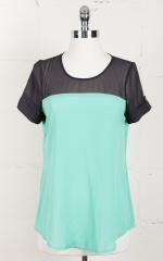 Mint Julep Blouse. Parc Boutique