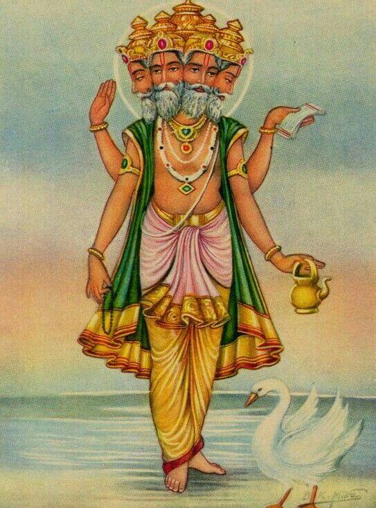 Brahma Ji. Namo Brahamai Namo.