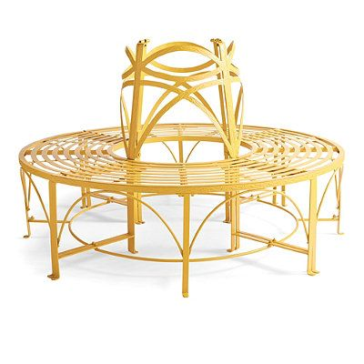 Verona circular tree bench grandin road home Circular tree bench