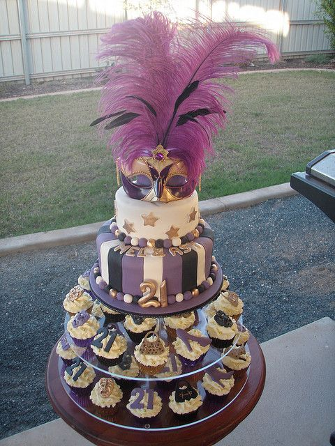 17 Best Ideas About Masquerade Cakes On Pinterest