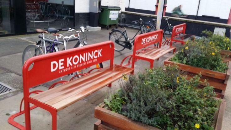 De Koninck (Moortgat / Duvel) - Claerbout straatmeubilair