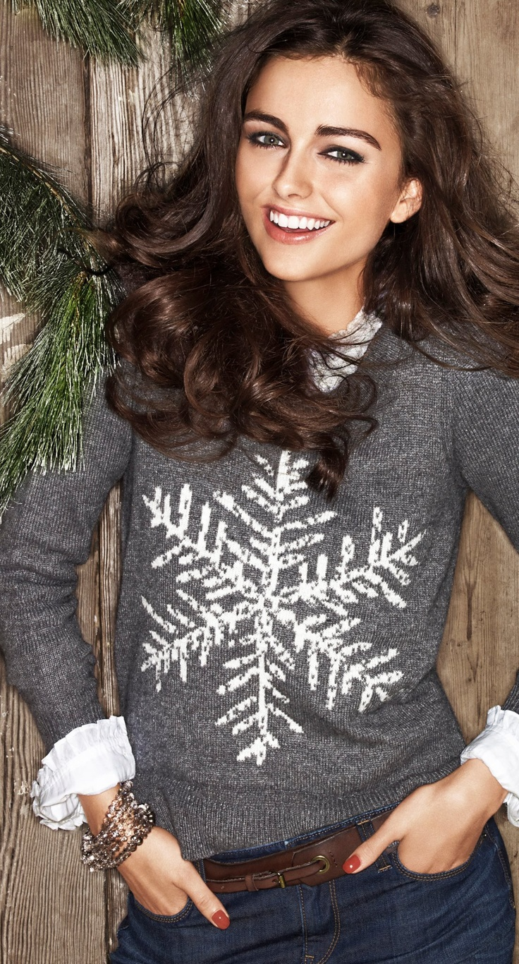 Darla Baker, probably the first holiday sweater I would actually wear!