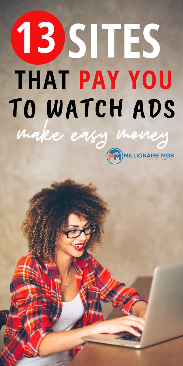How to Watch Ads for Money: Earn Money Now – Millionaire Mob Blog Posts