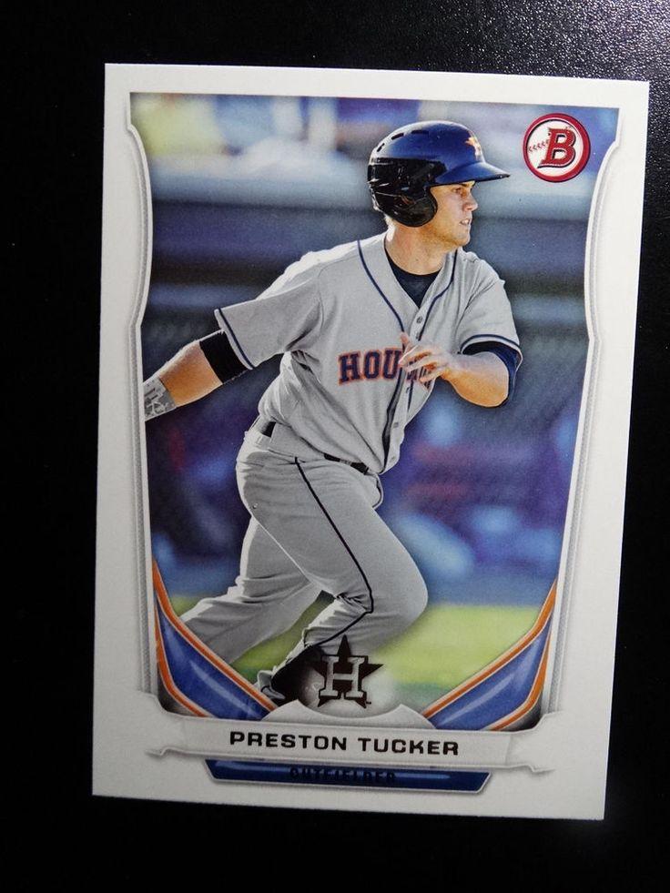 2014 Bowman #BP28 Preston Tucker Houston Astros Baseball Card #Bowman #HoustonAstros