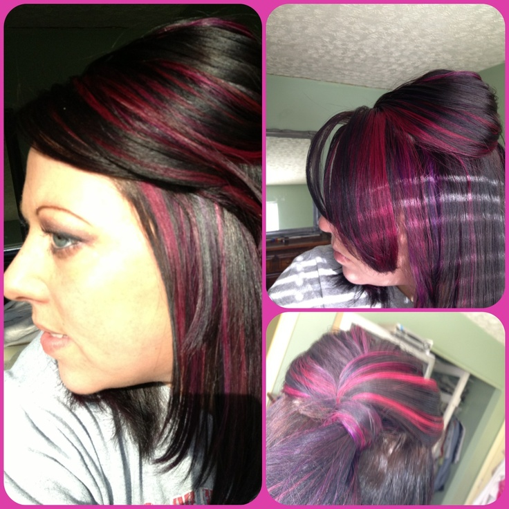 ... vivids hair color wild orchid and violet - pink hair, purple hair