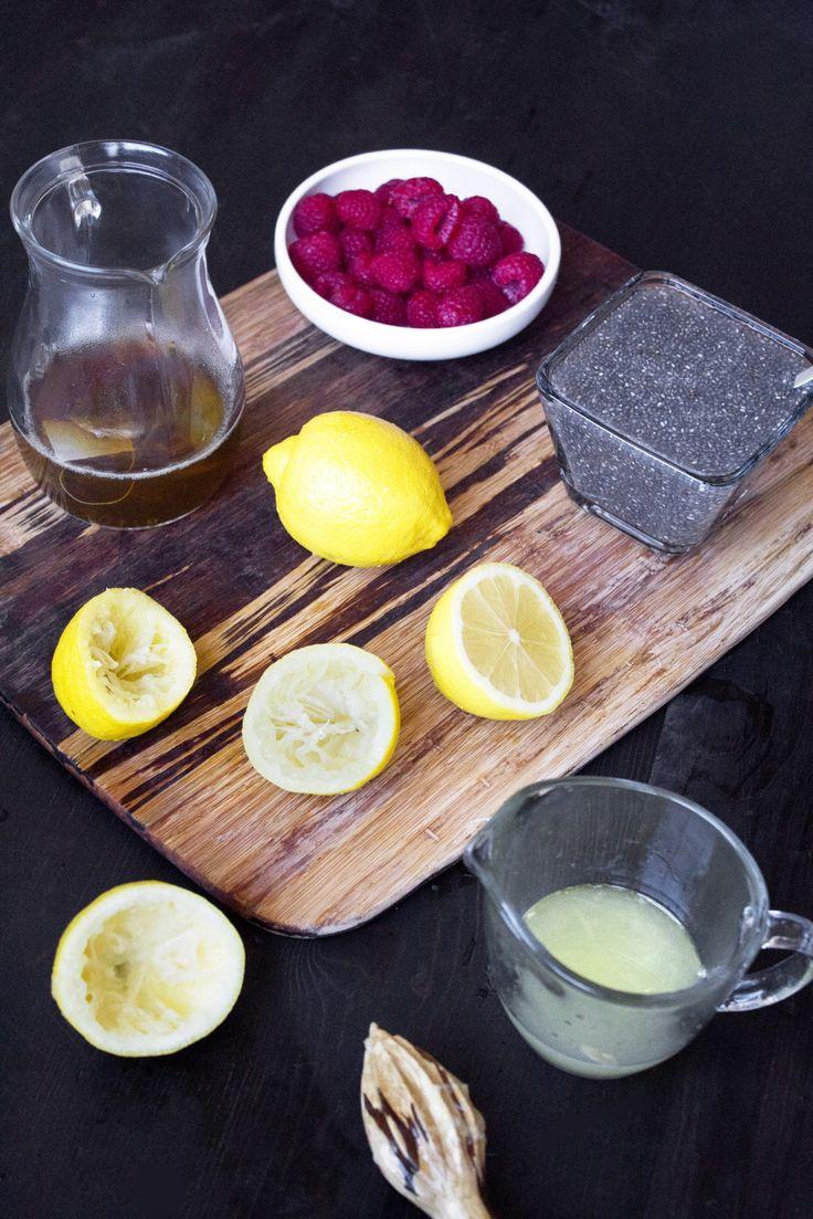 Raspberry Chia Lemonade Recipe Green tea lemonade