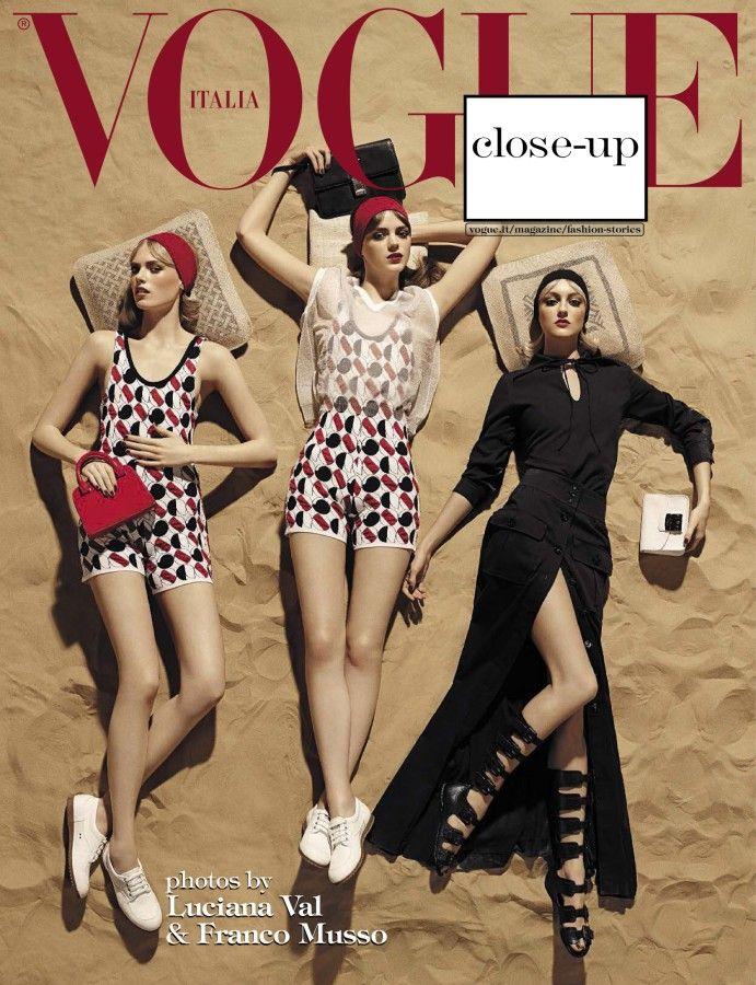 Vogue Italia March 2015 #fashion #cover