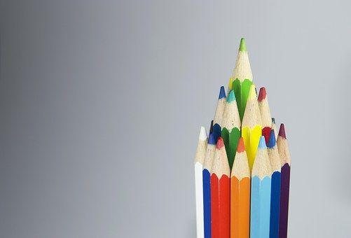 Ceruza, Szín, Színes, Zöld, Eszköz
