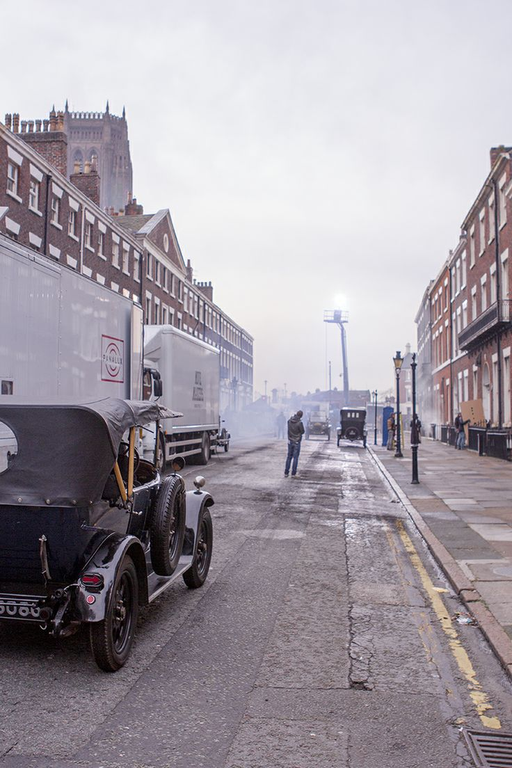 Peaky Blinders filming in Liverpool