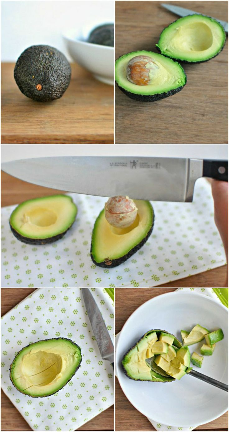 HOW TO: Cut an Avocado #howto #avocado