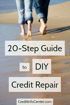 To be clear, this guide doesn't have 20 steps because it's complicated. On the contrary, there are 20 steps because this is the easiest way to understand and follow the DIY credit repair process. So instead of paying an expensive credit repair company to do it for you, do it yourself – for free – with this helpful guide.